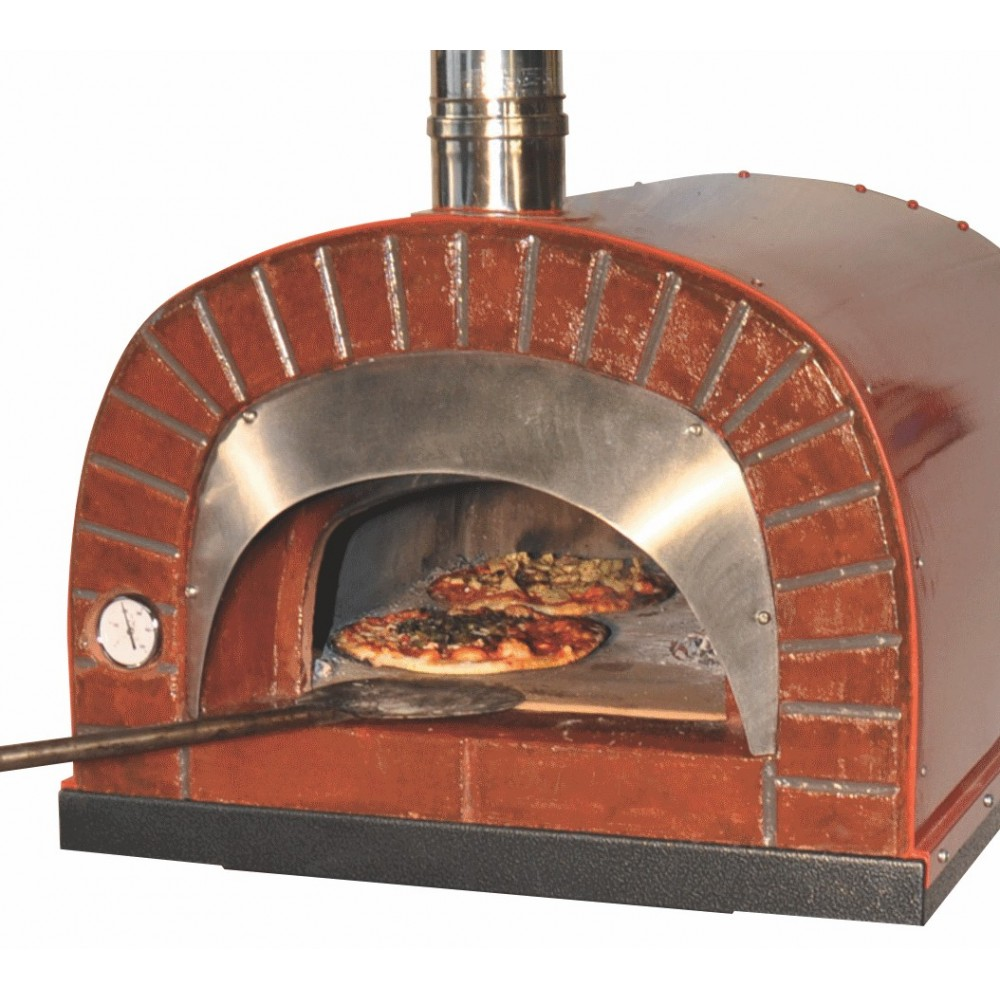 Forno a legna portatile for Temperatura forno pizza