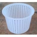 Forma cilindrica per formaggio da grammi 300/400
