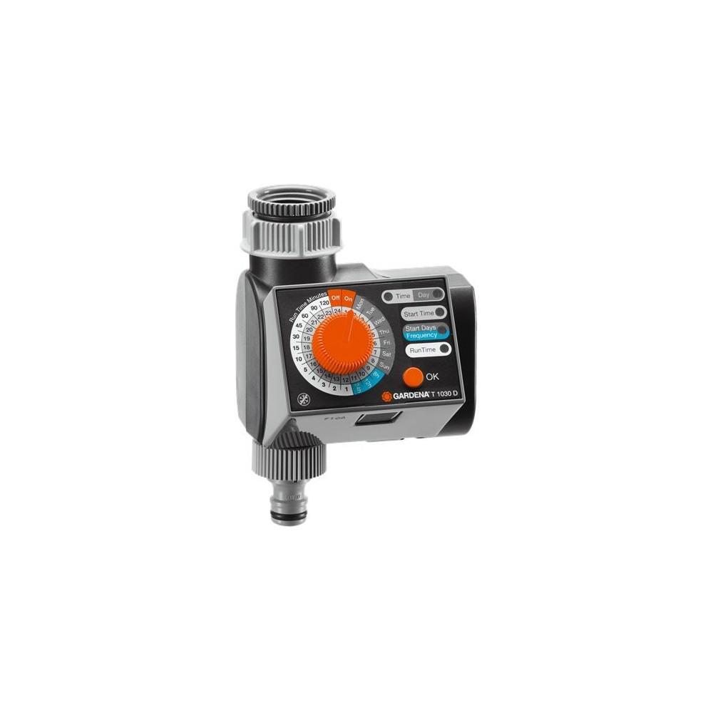 Timer elettronico per irrigazione orto sul terrazzo for Temporizzatore per irrigazione
