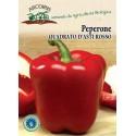 Square red pepper d'Asti
