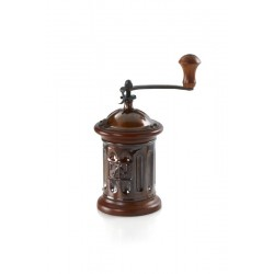 Jar shaped manual coffee grinder