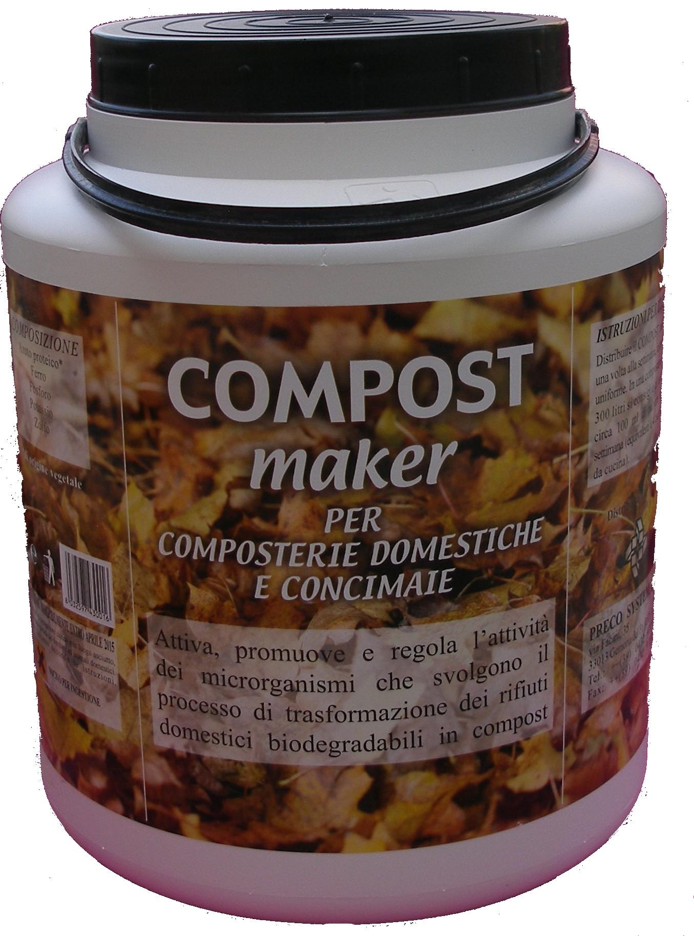 Compostiera e attivatore di compost - Orto sul Terrazzo