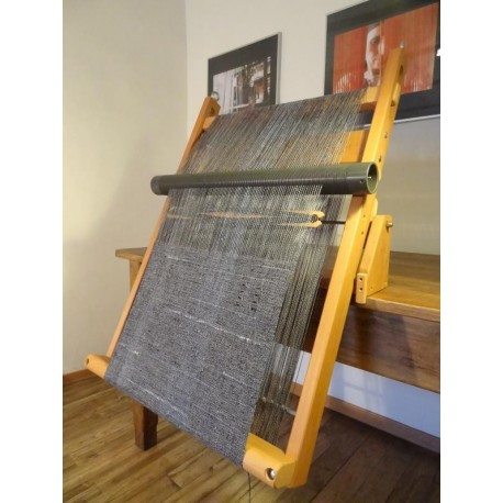 Supporto da tavolo per telaio a cornice orto sul terrazzo - Telaio da tavolo per tessitura a mano ...