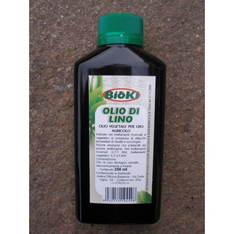 Olio di Lino - Flacone da 250 ml