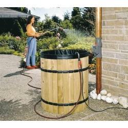 Kit di recupero dell'acqua piovana