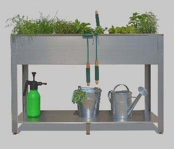 Metal kitchen gardens
